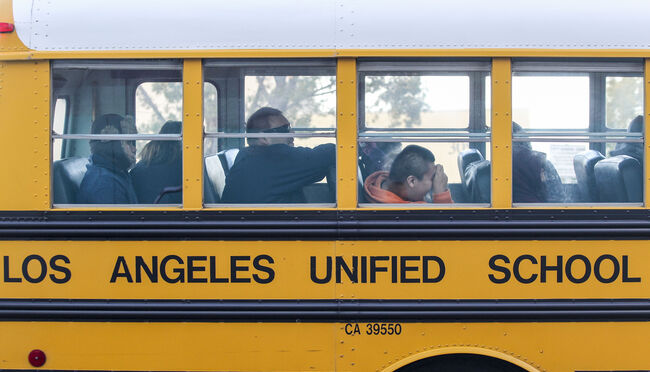 LAUSD School Workers Vote to Authorize a Strike
