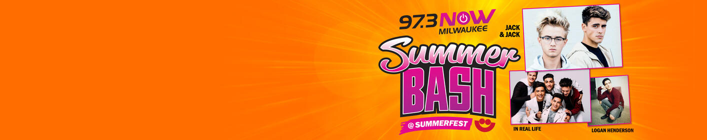 97-3 NOW SummerBash @ Summerfest w/ Jack & Jack, In Real Life & Logan Henderson - 6/30