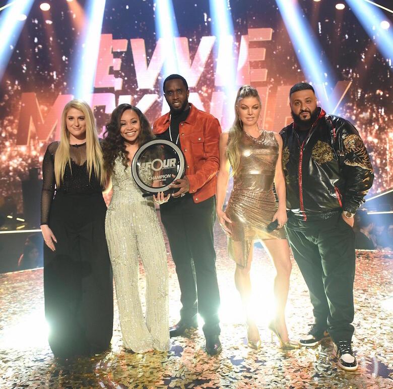 Evvie McKinney wins 'The Four.'