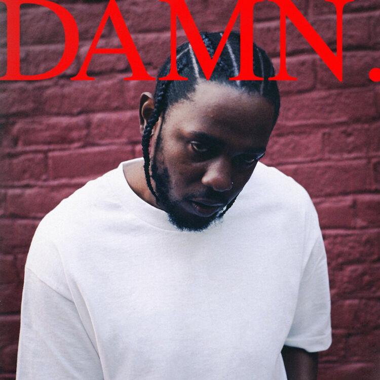 Kendrick Lamar - 'DAMN.' cover art