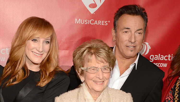 Bruce Springsteen Celebrated His Mother's 93rd Birthday