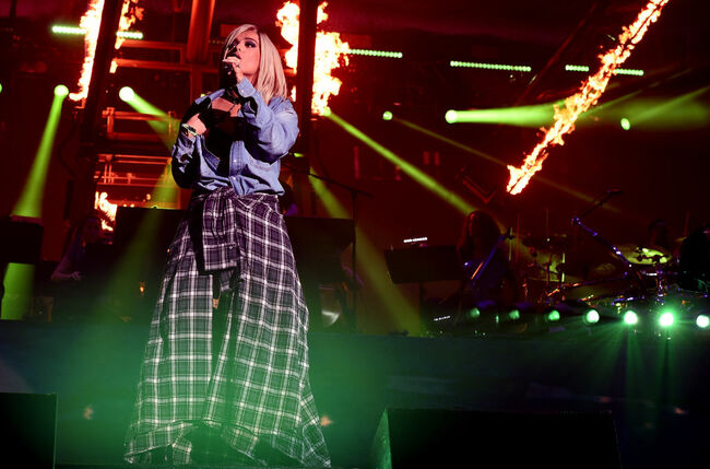 Bebe Rexha - Coachella (Getty Images)