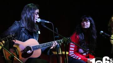 1065 The END - PHOTOS: The Aces Perform Acoustic Set for 1065 Listeners