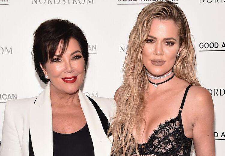 Kris Jenner, Khloe Kardashian