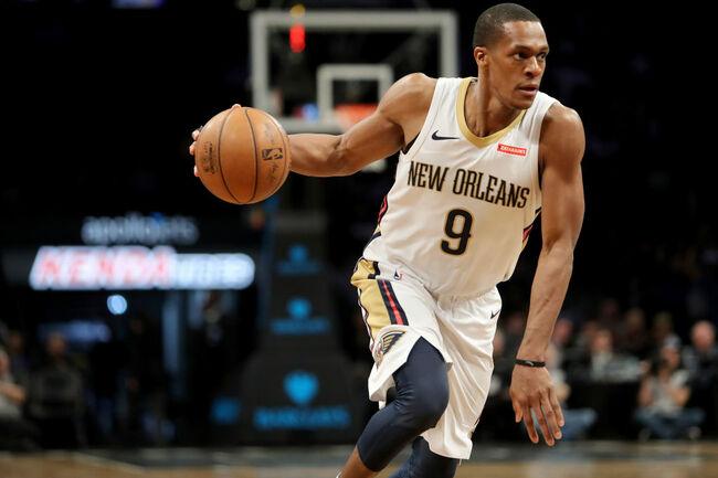 Rajon Rondo New Orleans Pelicans Getty