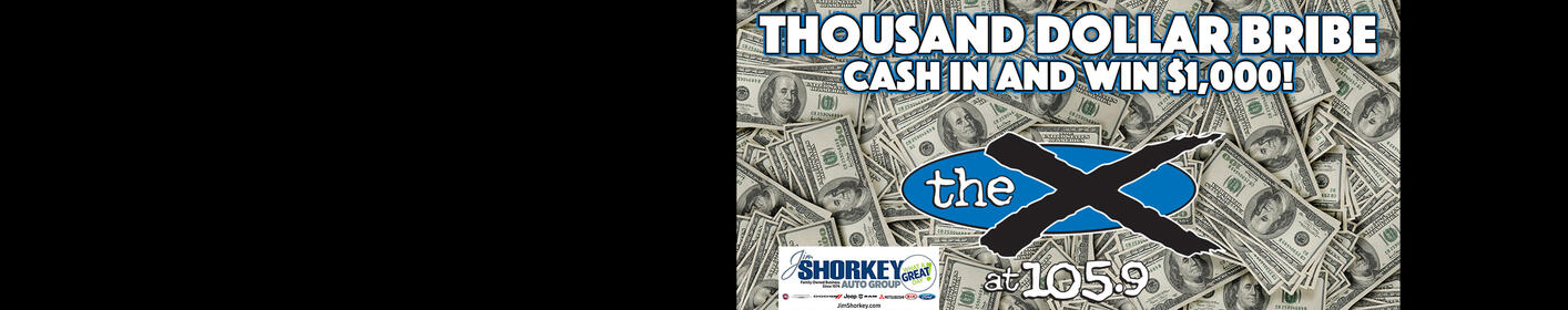 Listen to win $1,000 with 'Thousand Dollar Bribe'!