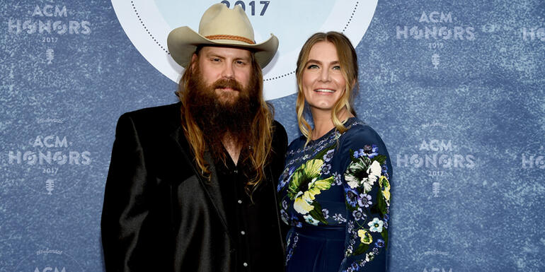 Chris Stapleton Gives Update On Newborn Twins