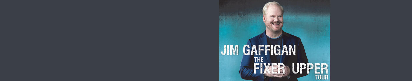 Jim Gaffigan is coming to the North Charleston Coliseum on August 17th