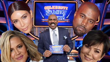 Steve Harvey Morning Show - Steve Harvey Spills Secrets About The Kardashian-West 'Family Feud' Episode
