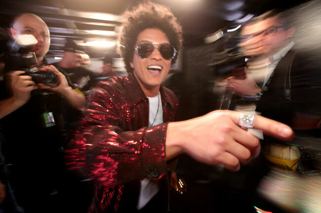 Bruno Mars (Getty)