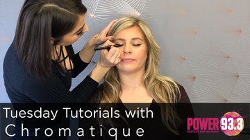 Kat - Tuesday Tutorials with Chromatique Salon - Winged Eyeliner