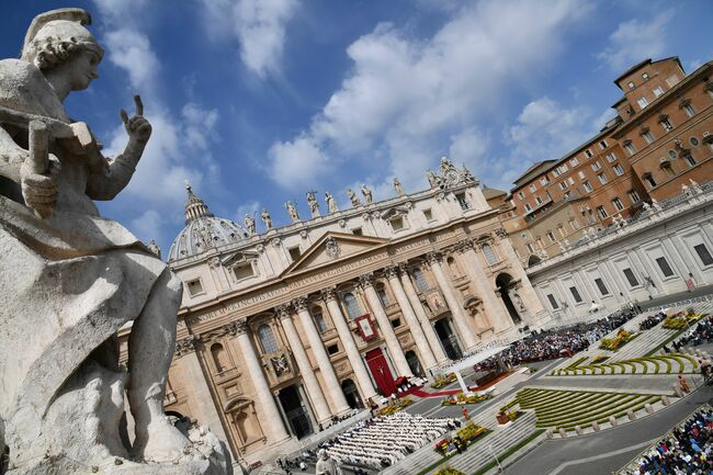 St. Peter's Basilica - Getty Images