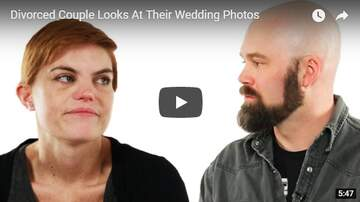 Trey - Divorced Couple Looks At Their Wedding Photos