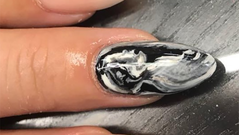 You Can Now Get A Sonogram Painted On Your Nail