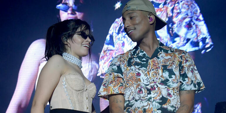 Watch Camila Cabello Perform New Song 'Sangria Wine' With Pharrell
