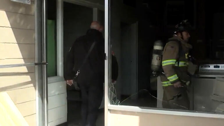 Gas-Soaked Clothing Causes Laundromat Explosion