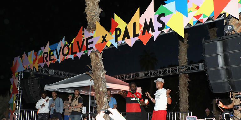 Inside Revolve's Coachella Party: Chance The Rapper, Instagram Opps & More