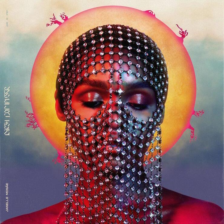 Janelle Monáe 'Dirty Computer' Album Cover Art