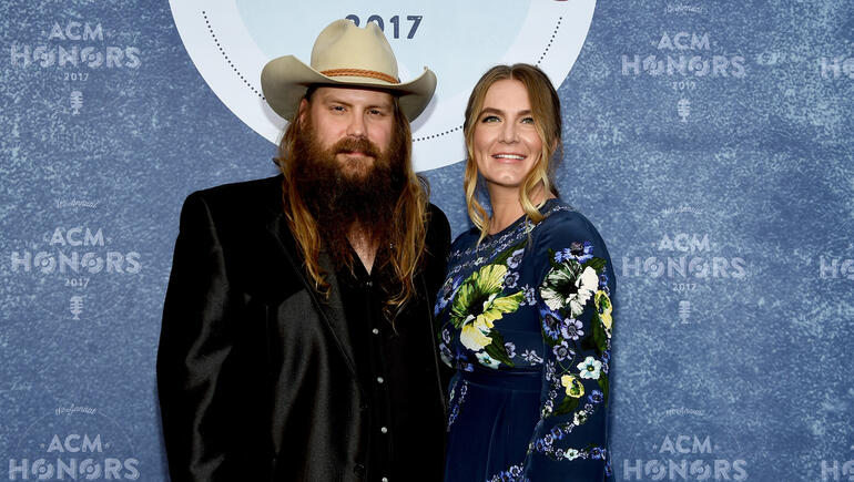 Chris Stapleton & Wife Share Update, Photo of Twin Sons