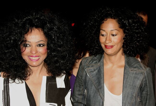 Diana Ross and Tracee Ellis Ross - Getty Images