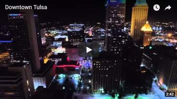 Trey - Sick Aerial View of Downtown Tulsa