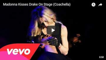Trey - #TBT Remember When Madonna Made Out With Drake?