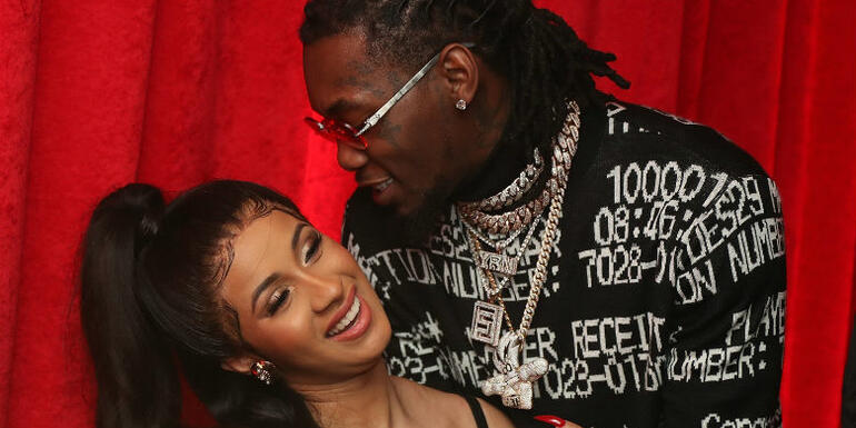 Cardi B Says Offset Picked Their Baby's 'Almost Tricky' Name
