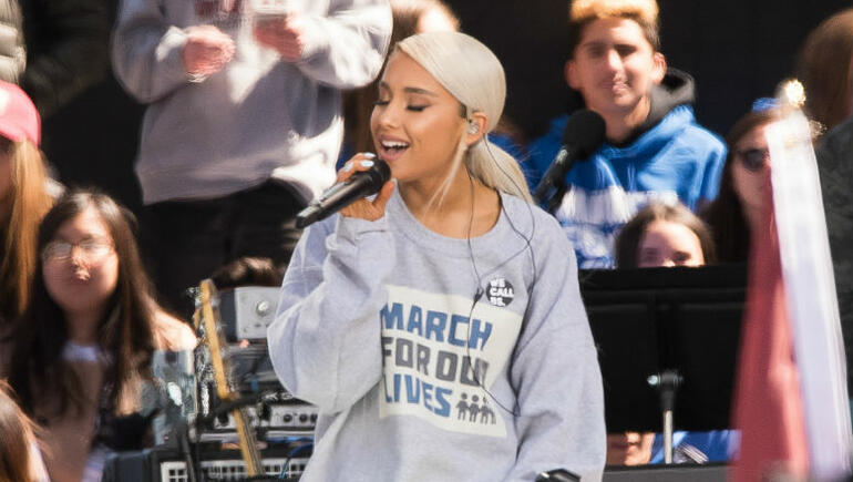 Ariana Grande Unleashes 'No Tears Left To Cry' Snippet & Cover Art