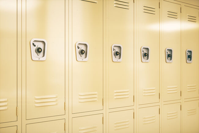 School Lockers Getty RF