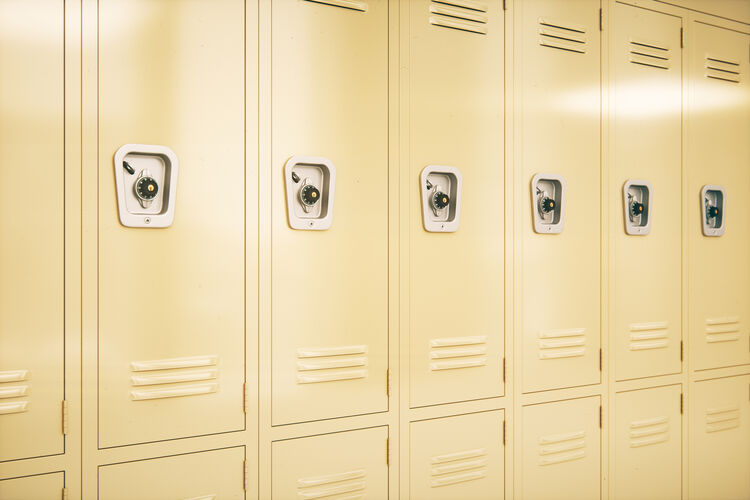 School Lockers Getty RF