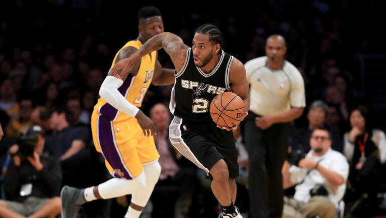 Lakers To Go Hard After Kawhi Leonard This Summer, According To Report
