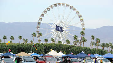 Coachella - High Winds Delay Coachella Weekend 2 Camping