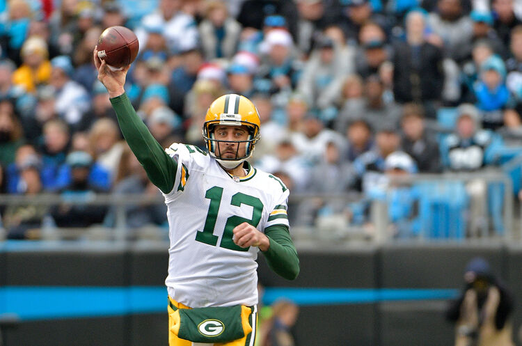 Aaron Rodgers-Getty Images