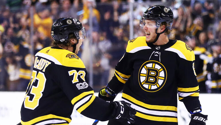 Bruins Youngsters Stepping Up In Playoffs