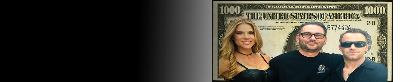 Hooker, Brooke & DB's Grant Money Text Codes Listen at :10 after every hour