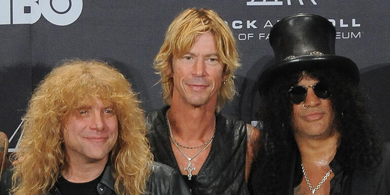 GNR's Steven Adler Burned His Memoir in the Fireplace After He Read It