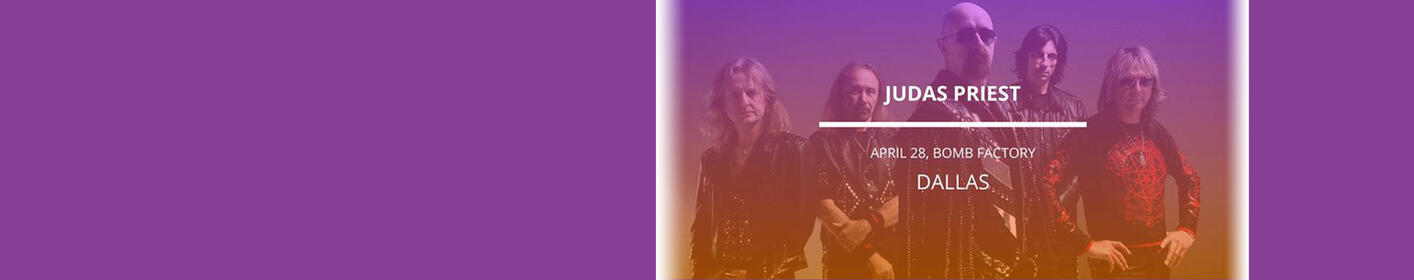 Listen At Work With Ayo This Week Around 12:25pm For The Chance To Score Tickets To See Judas Priest!
