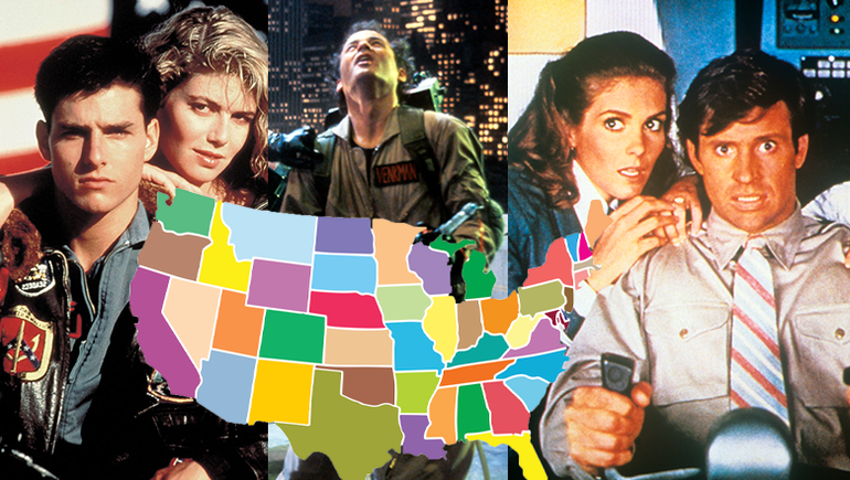 The Most Popular '80s Movie In Every State