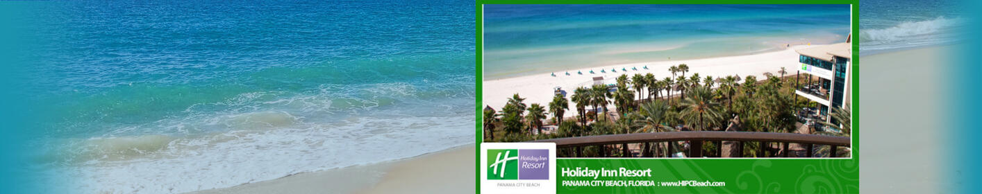 Pack For Paradise. Win This Getaway Package to the Holiday Inn Resort in Panama City Beach!