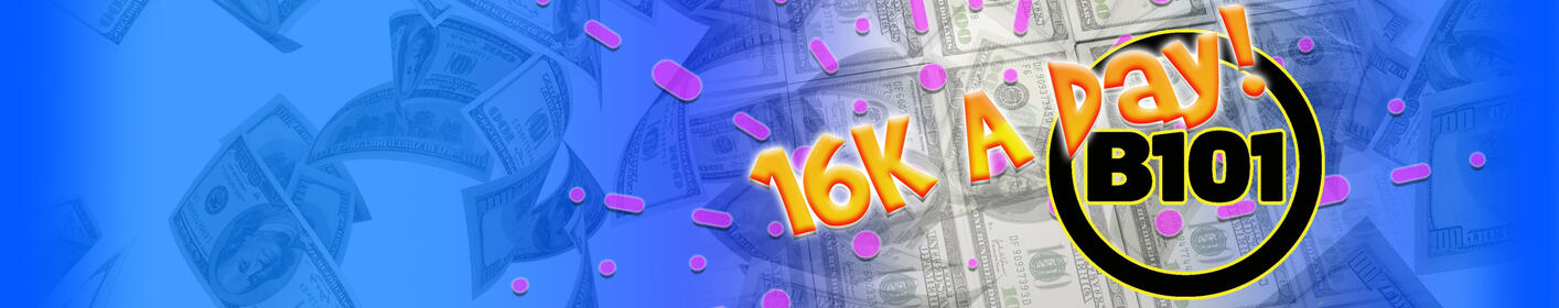 Your shot at $16,000 every weekday!