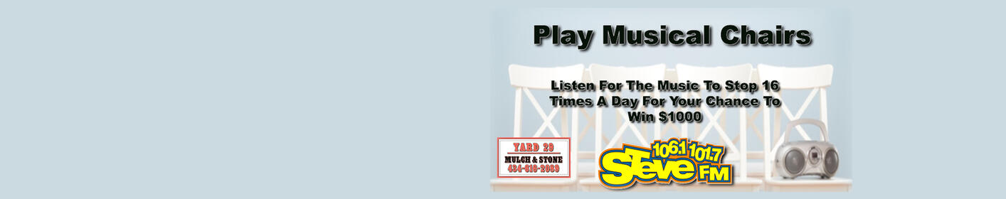 Play Musical Chairs With STEVE and Win $1000!