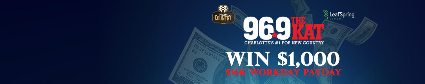 Win $1,000 Cash Hourly From 6:30 a.m. to 9:30 p.m.