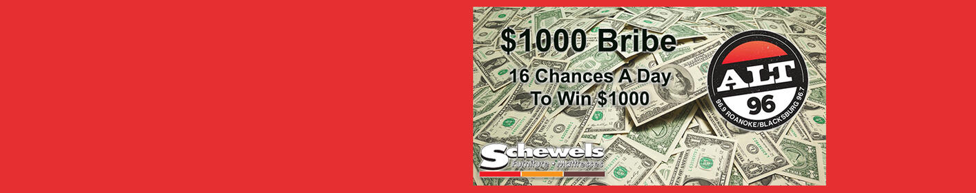 Listen To Win The $1000 Bribe