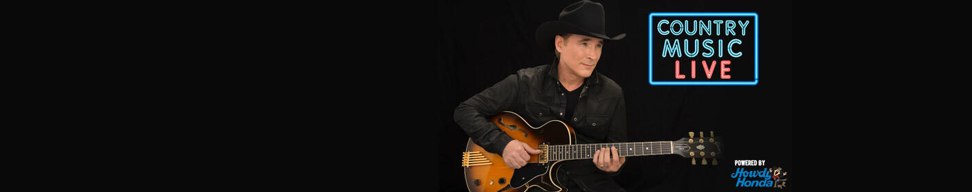Clint Black To Rock Nutty Brown On Friday, April 27th!