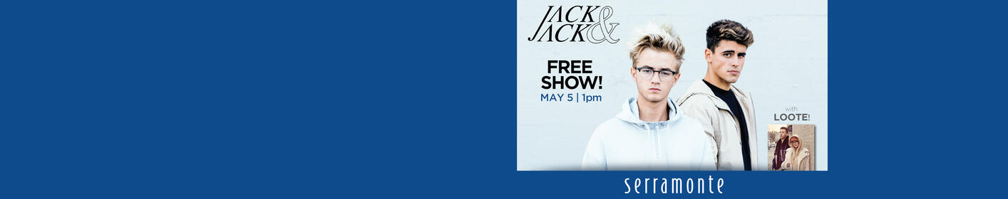See Jack & Jack for FREE at Serramonte + Enter to win a meet & greet!