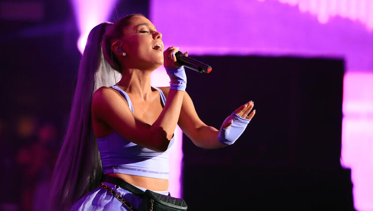 Ariana Grande Makes Surprise Coachella Appearance & Performs Her New Single