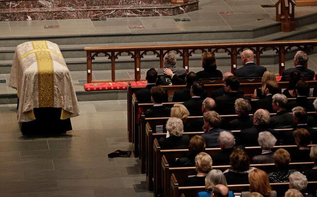 Former First Lady Barbara Bush laid to rest