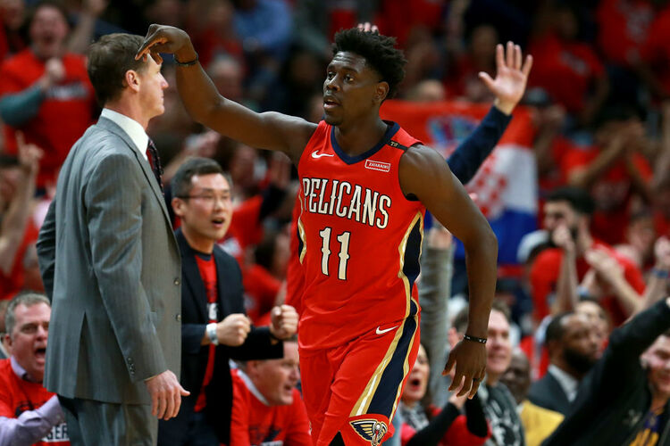 Jrue Holiday Pelicans Getty