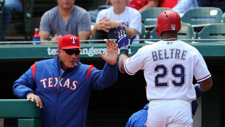 Rangers Beat Mariners 7-4
