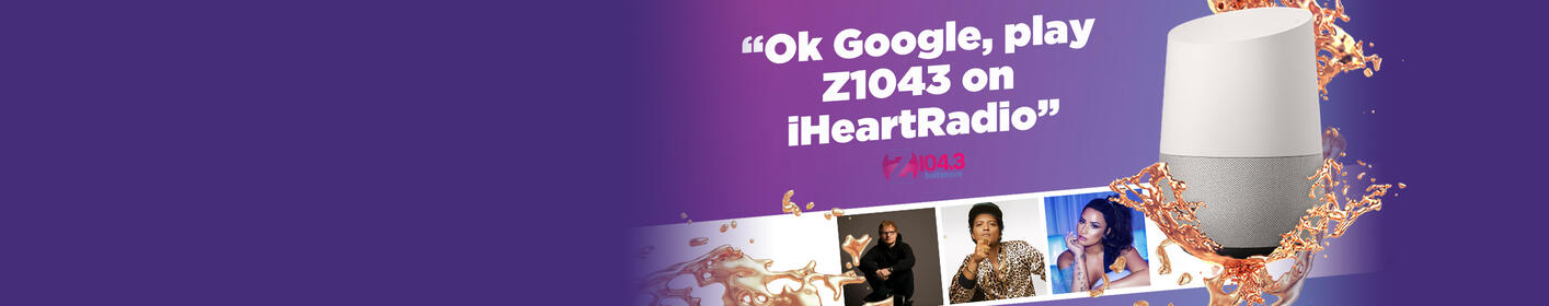 Ask Google to play Z1043!
